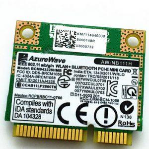 Atheros DW1537 QCSNFA2 NGFF-M 2 PCIe Wireless/Wifi Card + Bluetooth