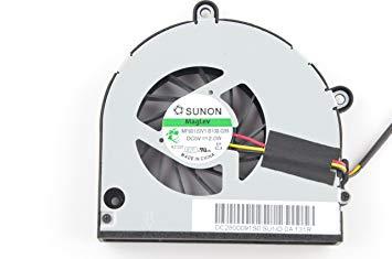 DBTLAP CPU Fan Compatible for Toshiba Satellite P750 P750D P755 P755D C660 C665 L670 L675 L675D A660 A665 A665D A660D C660-212 P755-S5120 KSB06105HA KSB06105HA-9K1N ksb06105ha AB7905MX-EB3
