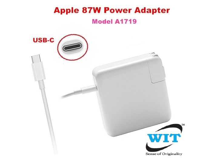 "Original 87W USB-C Power Charger Adapter for  MacBook PRO 15/"" A1719"
