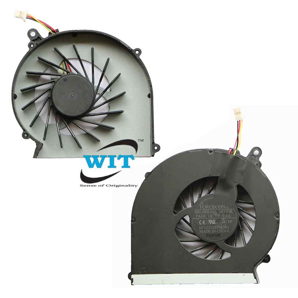 HP COMPAQ PRESARIO CQ43 CQ57 CPU COOLING FAN 3 PIN
