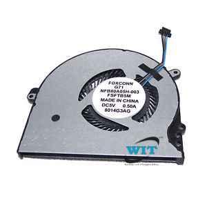 New HP Pavilion 15-CC 15-CC700 Series CPU Cooling Fan 927918-001 NS75000-16K11