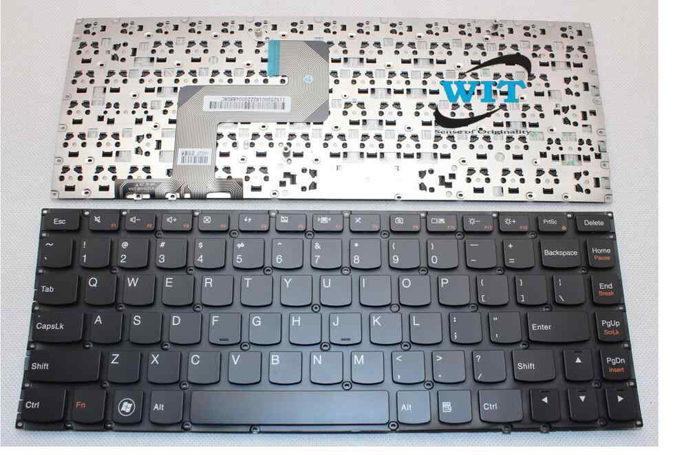 Laptop Keyboard For Lenovo Ideapad U400 U300s U300 U300e Series Us Layout Wit Computers