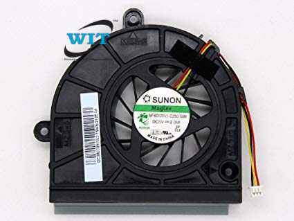 A pair Original Cooling Fan For ASUS  G55 G55V G55VW G55VM Cooler