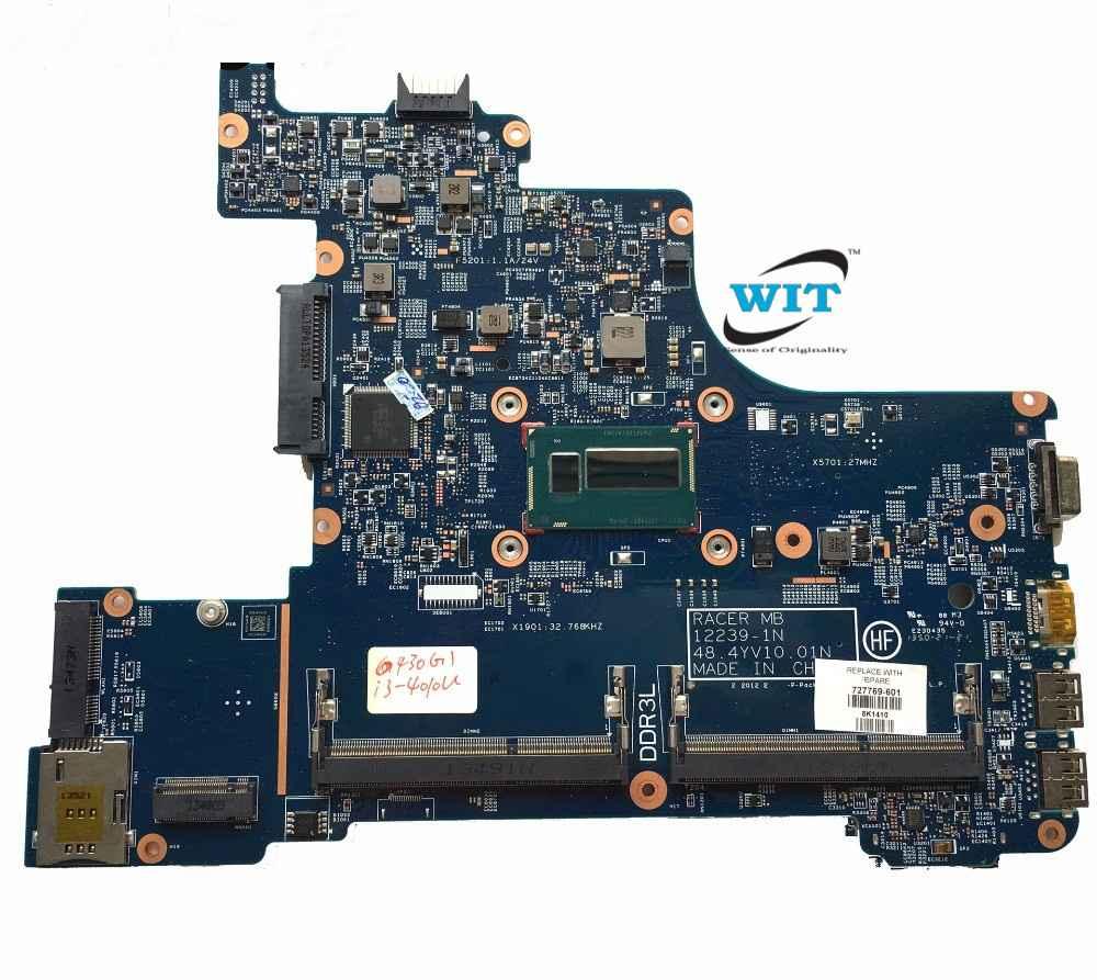 HP Probook 430 G1 Intel Motherboard with Intel Core-i3 4010U Processor CPU