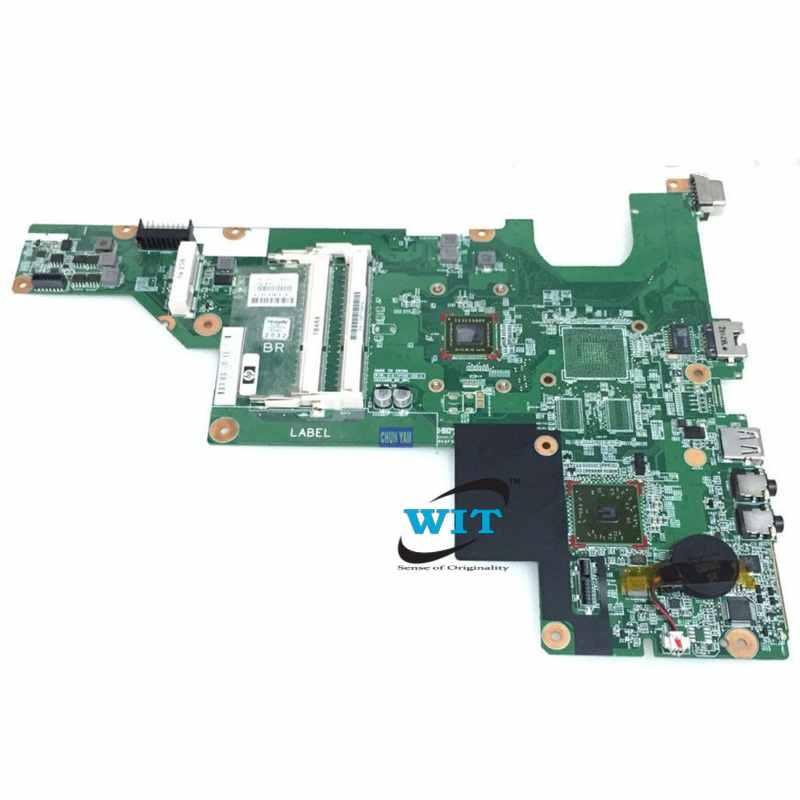 HP Compaq CQ43 CQ57 Laptop Motherboard with AMD C-50 CPU Processor