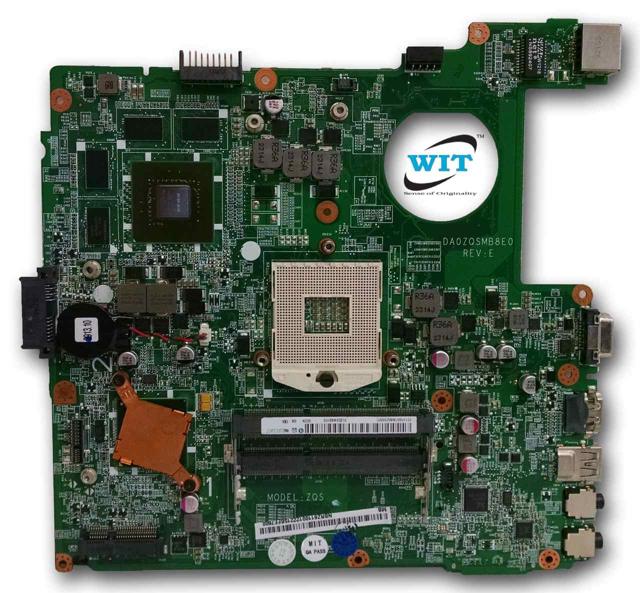 Acer Aspire V3-471 V3-431 E1-471 E1-431 Motherboard DAZQSAMB6F1 DA0ZQSMB8E0  REV: E