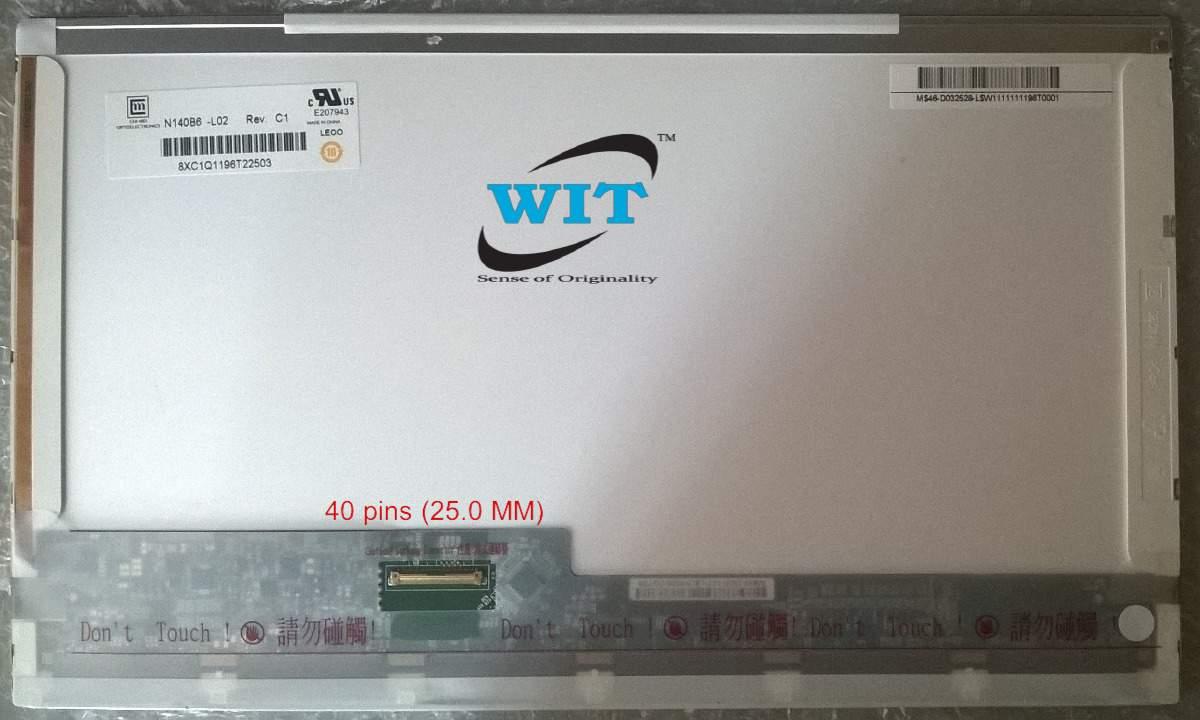 """Dell E5430 ChiMei Innolux 14/"""" Matte LCD Screen N140BGE-L12 Grade A"""
