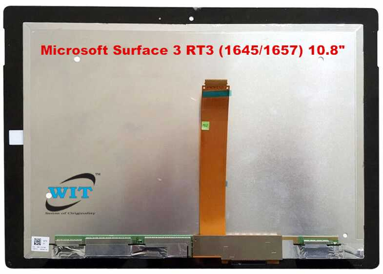 10.8 LCD Touch Screen LED Display Digitizer Assembly for Microsoft Surface 3 RT3 1645 1657 X890657-008