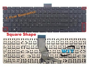 US Layout Black Color New Laptop US Backlit Keyboard Without Frame Replacement for Lenovo Ideapad Yoga 3 Pro 13 Series PK130TA1A00 PK130TA1C00 V-148520AS1-US SN20F66305 SN20G68503
