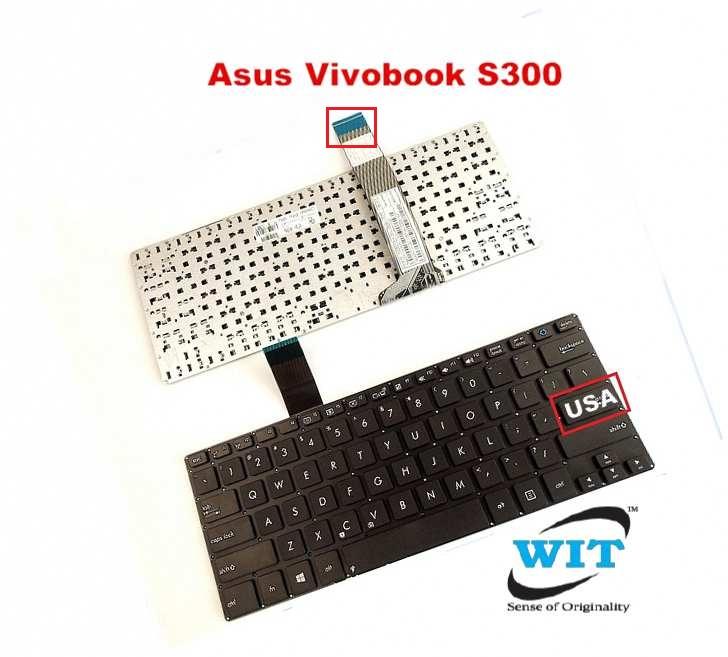 Laptop Keyboard Compatible for Asus VivoBook x505 X505B X505BA X505BP X505Z X505ZA K505 K505B K505BP US Black Without palmrest