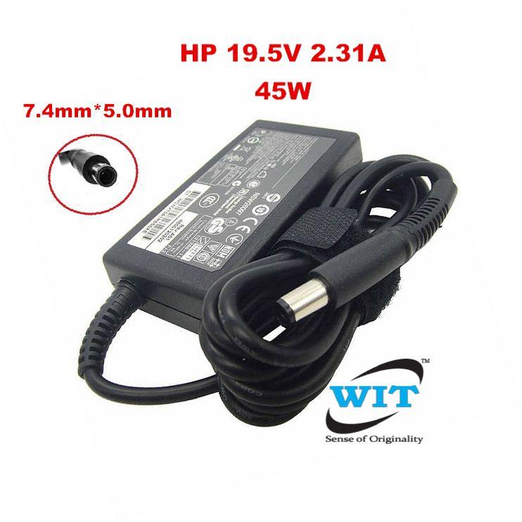 Lot of 5 Genuine HP 45W 19.5V 2.31A AC Adapter for Elitebook Folio Probook