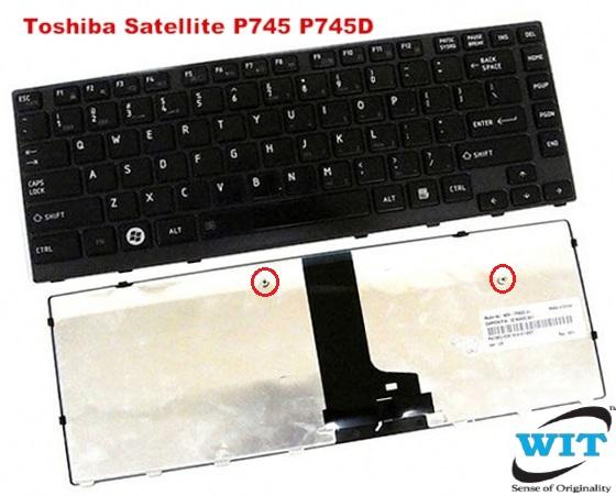 Backlit NSK-TPABC Keyboard for Toshiba Satellite M640 M645 P740 P745